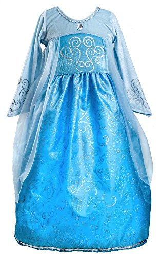 Little Adventures Ice Princess Queen Costume Dress -
