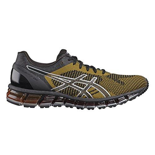 Asics Gel-Quantum 360 Knit, Chaussures de Running Homme Noir (Black/martini Olive/silver)