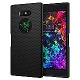 Spigen [Liquid Air] [Black] Case for Razer Phone 2, Slim