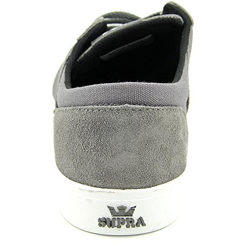 Supra Yorek Low, Sneakers Basses mixte adulte Charcoal-Magnet-White