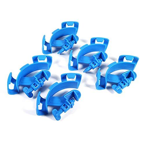 5 Stücke Aquarium Aquarium Filtration Wasserrohr Filter Schlauchhalter Für Halterung Rohr Einstellbare Halterung passt die meisten Rohre Attaches mit Vice