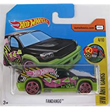 2017 Hot Wheels HW Art Cars Fandango Treasure Hunt 4/10 (Short Card)