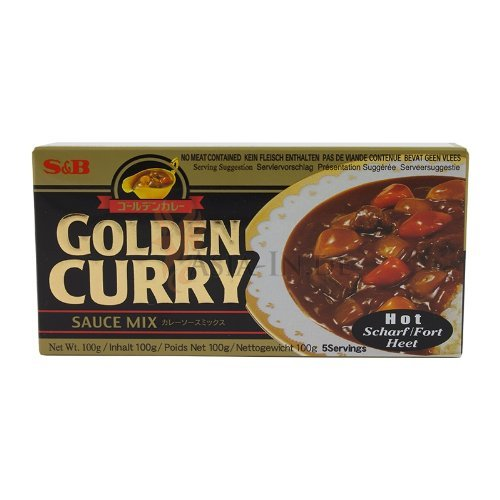 S&B Golden Curry Scharf