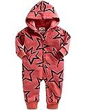 Vaenait Baby 56-80 Winter Schafwolle Mutze Overall Oberekleidung Safari Warm