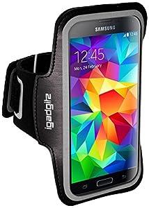 Brassard résistant à l'eau et fabriqué sur mesure pour votre Samsung Galaxy S5 SV MINI SM-G800F. Fabriqué à partir de néoprène résistant à l'eau avec bande réflective. Textures adhérent sur le dos et sur la courroie pour tenir le brassard en place et...