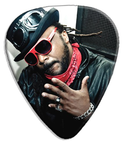 Skindred (JC) Big Grande Live Performance Chitarra Plettro