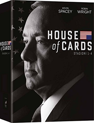 House of cards stg.1,4 (box 16 dvd)