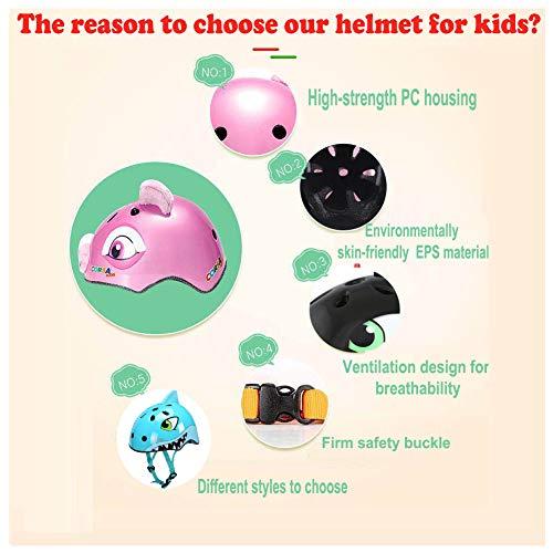 Zoom IMG-2 ygjt caschi bici per bambini