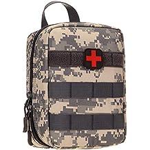 Selighting MOLLE Médico Bolsa de Primeros Auxilios Mochila Militar Multifunción Bolsa Táctica Compacta Botiquín Médico con