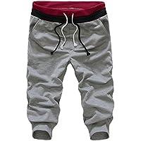 Eleery Fashion Men's Baggy Print Hip Hop Long Pants Sweatpants Sports Fitness Casual Trousers Joggers