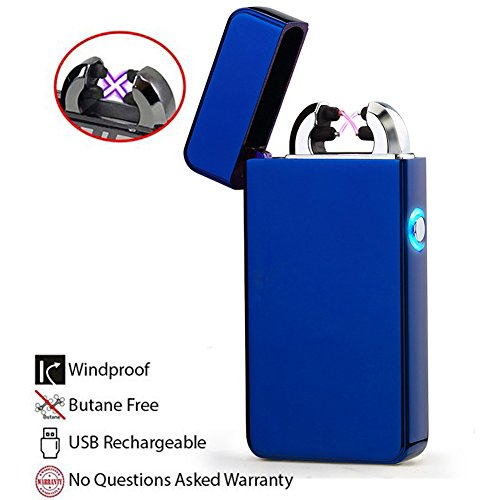 windproof-lighter-starc-lighterr-metal-body-usb-rechargeable-double-electronic-arc-cigarette-lighter