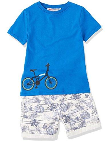 RED WAGON Jungen T-Shirt mit Fahrrad-Print, Blau (Blue), 104 (Herstellergröße: 4 Jahre) - 3