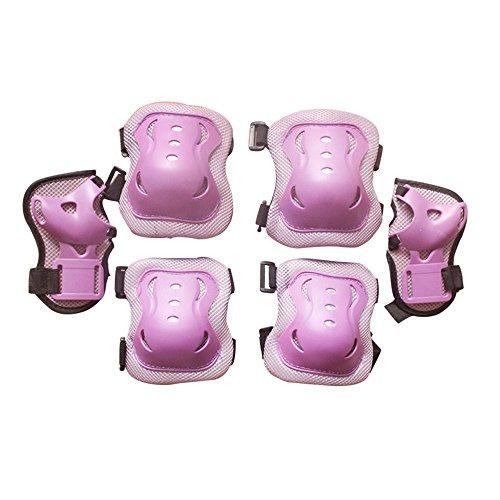 eruner-rouleau-kid-patinage-de-poignet-coude-genouilleres-gear-pour-3-9-ans-lot-de-6-violet