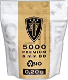 ELITE FORCE PREMIUM BIO BB Softairkugeln weiß 6mm 0,20g 5000 BBs