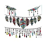 Xmiral Tapestries Niedlich Stil Gedruckte Picknickdecke Strandtücher Wandtuch Wandbehang Wandteppich Yoga Decken Hochzeitsfeier Wanddeko(150X130 cm,B)