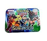 #2: Assemble New Original Sun and Moon Pokemon Go Fates Collide Metallic Box Card Pack