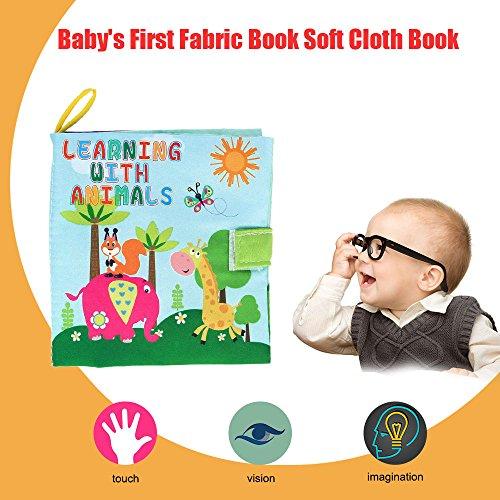 Goolsky-Coolplay-Libro-de-Tela-No-txico-Tela-Suave-Lavable-Juguetes-de-Beb-Educacin-Inicial-Aprendizaje-Desarrollo-de-Inteligencia