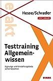 Testtraining Allgemeinwissen inkl. eBook: Eignungs- und Einstellungstests sicher bestehen (Beruf & Karriere)