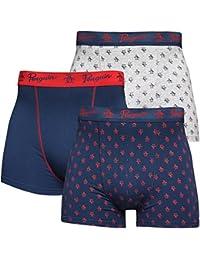 3 Pack Mens Original Stretch Jersey Boxer Shorts Underwear