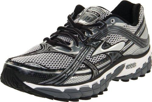 Brooks 1100871D096, Herren Sneaker, Silber (pavment/sliver/schwarz/weiß), 40,5 EU / 7 UK