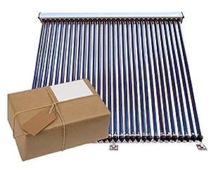Solway® VRK 20, Solar Komplettpaket, 1-8 Vakuumröhrenkollektoren mit Zubehör 24,80 m², 8 Kollektoren a 20 Röhren
