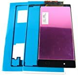 LCD Display Screen+Touch+Glue for Sony Xperia Z1 L39h C6902 C6903 C6906~Black Schwarz