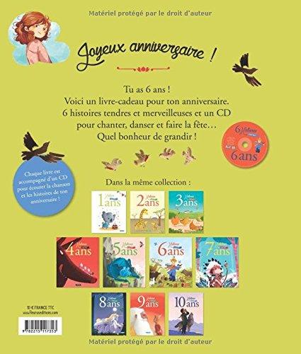 6 Histoires pour mes 6 Ans (+CD)