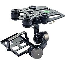 Simulus Zubehör zu Quadrocopter: Kamerahalterung mit kardanischer Aufhängung (Gimbal) G-2D (GPS-Drohne mit Kamera)