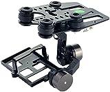Simulus Zubehör zu Drohne RC-Modell: Kamerahalterung mit kardanischer Aufhängung (Gimbal) G-2D (Drohnen mit Live-Kameras und GPS)