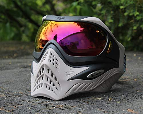 VForce Grill Paintball Maske Black on Grey HDR Thermal Glas -