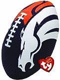 Ty Beanie Ballz NFL RZ Denver Broncos Football Plush by TY Beanie Ballz
