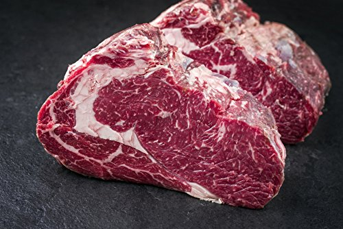 Bio-Entrecôte/Rib Eye Steak 500g - 42 Tage 'Dry Aged' gereift in der Salzkammer