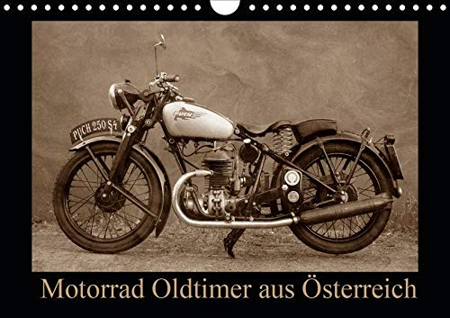 Motorrad Oldtimer aus Österreich (Wandkalender 2020 DIN A4 quer)