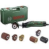 Bosch PRR 250ES 06033b5001–Fixierer Abrasives mit 3weitere Bürsten