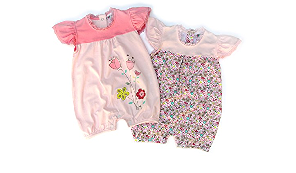 Body rosa rose Petitebelle Baby M/ädchen 0-24 Monate