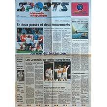 NOUVELLE REPUBLIQUE SPORT (LA) [No 302] du 23/01/1995 - RUGBY - FRANCE ET PAYS DE GALLES - VOILE - COUPE DE L'AMERICA - SERIE NOIRE EN COURS - FOOT - LES LYONNAIS SUR ORBITE EUROPEENNE - SAUT A SKIS - UNE 1ERE POUR DESSUM - SKI - ALBERTO TOMBA - BASKET - CHOLET TOMBE A PAU ANTIBES CONTINUE - TENNIS - MARY PIERCE - NOAH