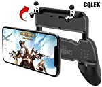 CQLEK® 2 in 1 Mobile Remote Controller Gamepad Holder Handle Joystick Triggers for PUBG L1 R1 Shoot Aim Button for iOS...