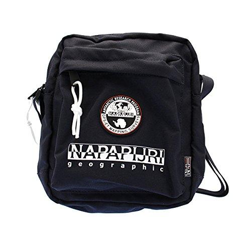 Napapijri Bags Borsa Messenger, 22 cm, 4 liters, Blu (Blu Marine)