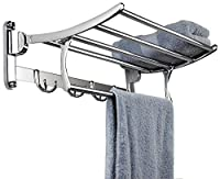 Keepwell offers this unique product, folding towel rack to utilise the space. Innovative towel rack gives us an excellent idea to roll onto the practice of making things work in our favour. Simply buy any one of these right way and explore a more con...