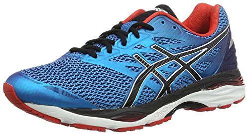 asics-mens-gel-cumulus-18-running-shoes-blue-island-blue-black-vermilion-95-uk
