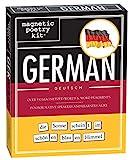 Magnetic Poetry: German Kit