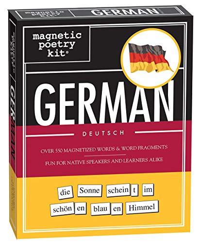 German Magnetic Poetry Kit (Kühlschrank-magnet-kit)