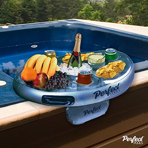 Preisvergleich Produktbild Life Floating Spa Bar Inflatable Hot Tub Side Tray for Drinks and Snacks