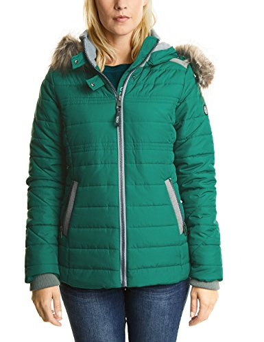 Cecil Damen Jacke 200165, Grün (Electric Green 10971), Small