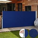 Jago SMKS01 - Toldo lateral para proteger, color azul, tamaño 160x300 cm