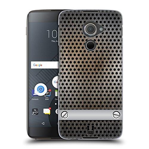 Head Case Designs Bleche Industrielle Texturen Ruckseite Hülle für BlackBerry DTEK60