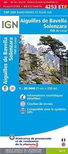 Aiguilles de Bavella / Solenzara / PNR de Corse gps wp (Ign Map) par IGN Institut Géographique National