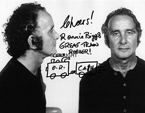 Édition limitée Ronnie Biggs (photo dédicacée par autographe