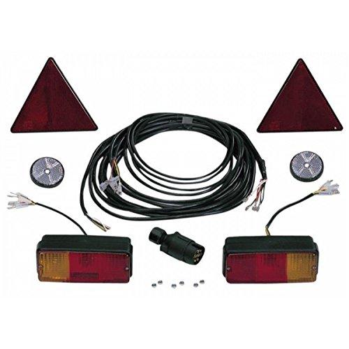 Kit Beleuchtung für Anhänger 7mt + 2,2MT -