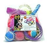 Va chercher! Assortiment de boules et jouets pour chien de qualité supérieure de Superior Petcare®, plus mini lanceur de balle gratuit. -